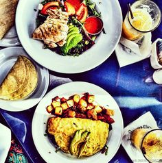 BLONDER AMBITIONS   INSTAGRAM RECAP – FOOD EDITION. boathouse – grilled chicken   avocado   corn tortillas   nutmeg   rum punch   red onion   spinach   omelet