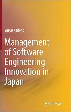 Management of Software Engineering Innovation in Japan PDF