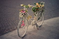 theskeletonofme:  floral bike (by growyourbeauty)