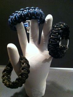 "Paracord bracelets, armbanden ""Extra robuust"" | doemaardie"