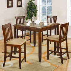 Dining set counter height CO-150154