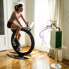 Ciclotte (Exercise Bike) by Luca Schieppati how awesome!!