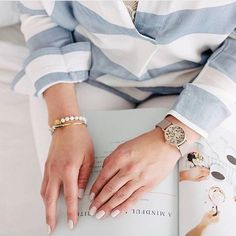 Designed as a tribute to one's uniqueness, this Limited Edition Cluse La Roche Petite watch features a real Dalmatian stone dial with natural, one-of-a-kind spo Spring Style, Statement Jewelry, Stocking Stuffers, Valentine Day Gifts, Spring Outfits, Gifts For Mom, Spring Fashion, Personality, Women Wear