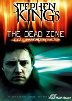 The Dead Zone One of the few Stephen King novels faithfully translated to film. Love Christpher Walken in this! Best Horror Movies List, Scary Movies, Great Movies, 80s Movies, Cinema Movies, Halloween Movies, Martin Sheen, Michael Sheen, Horror Movie Posters