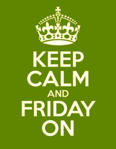 ¡Viernes!