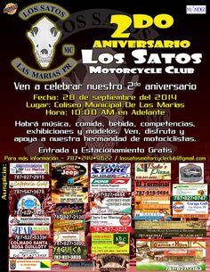 2do Aniversario de los Satos Motorcycle Club @ Las Marías #sondeaquipr #satosmc #lasmarias #bikerpr