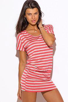 Striped Spaghetti Strap Midi Dress In Just $5.99 #affordable plus ...