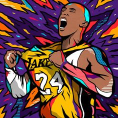 An inspiration they express rather eloquently through their creations always colorful, whether to portray the stars of the nba or princess mononoke. Kobe Bryant Family, Kobe Bryant Nba, Dope Wallpapers, Sports Wallpapers, Ar Jordan, Lebron James Lakers, Kobe Bryant Pictures, Kobe Bryant Black Mamba, Nba Pictures