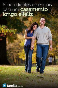 Adicione alguns ingredientes essenciais ao seu casamento. Discuta-os com o seu cônjuge e vocês poderão fortalecer e acrescentar anos à sua união. Um b...