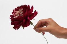 Peonies, wedding peonies, wedding decor, wedding flowers, white peonies, ivory peonies, peonies bouquet, paper peonies, 3 pcs