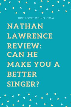 How a worship leader make you a better singer? Read on. #JustLovetoSing #NathanLawrence #OnlineCourse #Vocals #Singing #Blog