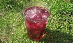Blackberry and star anise cordial