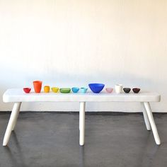 Colourful resin homewares by Tina Frey Designs
