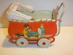 Dolls Prams, Miniature Dolls, Vintage Toys, Babys, Baby Strollers, Restoration, Wheels, Times, Layette