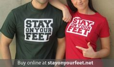 Our very own Stay on your Feet tees designed in reference to Ray Wilkins commentary skills!