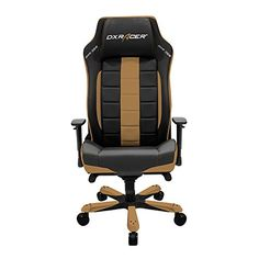 DXRacer Classic Series Big and Tall Chair Racing Bucket Seat Office Chairs Comfortable Chair Ergonomic Computer Chair DX Racer Desk chair (Black/Coffee) Office Gaming Chair, High Back Office Chair, Black Office Chair, Executive Office Chairs, Office Desk, Herman Miller, Kids Bedroom Chairs, Ergonomic Computer Chair, Ergonomic Chair