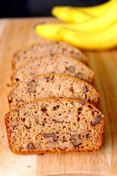 Banana Bread made with Applesauce instead of butter or oil