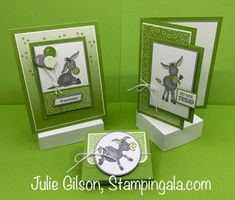 Donkey Images, Mini Albums, Birthday Cards For Her, Stampinup, Stamping Up Cards, Animal Cards, Card Sketches, Funny Cards, Card Tags