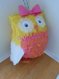 Owl piñata 2