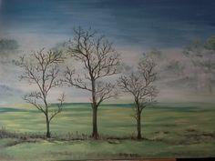 "oil on canvas - 30""x40"""
