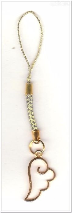 Angel Wing Charm Mobile Phone/Bag Dangle  by MadAboutIncense - $6.50
