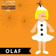 Want to dress up as #Olaf? ⛄ Boy or girl version. Easy! See 250 more ideas too: ecampusdot.com/1MUKey7