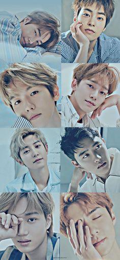 Exo Group Photo, Chanyeol, Woo Bin, Wallpapers, Kpop, Funny Stuff, Funny Things, Wallpaper, Backgrounds
