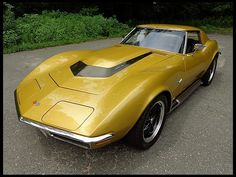 1970 #Chevrolet #Corvette C3 Coupe 454/500 HP. #Classic #SportsCar #Style #Speed #Cars #CarShowSafari