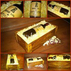 wine bottle cake   Wine bottle cake - Boros üveg torta Wine Bottle Cake, Anna, Cakes, Cake Makers, Kuchen, Cake, Pastries, Cookies, Torte
