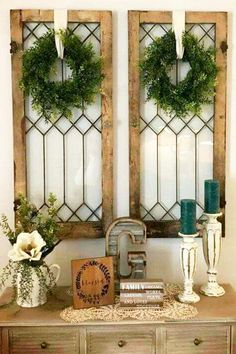 DIY Foyer Decorating Ideas For Small Foyers and Apartment Entryways - Clever DIY Ideas - Small Foyer or entryway hall decor idea The Effective Pictures We Offer You About cute home decor - Farmhouse Wall Decor, Rustic Decor, Farmhouse Style, Farmhouse Ideas, Farmhouse Kitchens, Rustic Kitchen, Vintage Decor, Farmhouse Windows, Antique Farmhouse