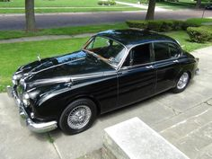 1962 Jaguar MKII 4-Speed w/ Overdrive