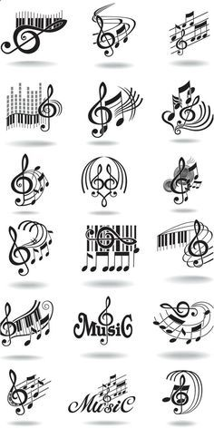 Notes, music