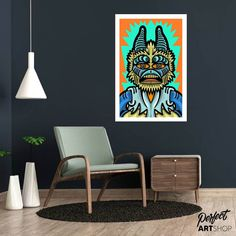 Check out our latest addition in the shop. Colourfull art representing Creatures from Mos Eisley Cantina from Star Wars: A New Hope. This is created by HOWLIN' QUIN DE VREEDE. Check out the site for more of his work. Satoshi Nakamoto, A New Hope, Star Wars, Creatures, Check, Shop, Prints, Home Decor, Art