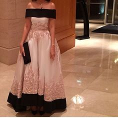 Women Prom Dress Vestido de Ball Gown Off Shoulder Satin Lace Appliques Elegant Evening Sexy Dress Formal  Muslim Evening Gown