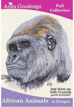 Anita Goodesign | African Animals - Anita Goodesign