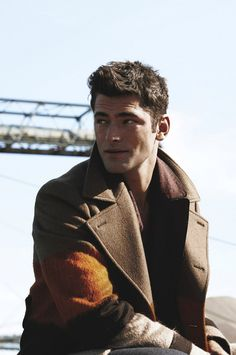 Sean O'Pry photographed by Tetsu Kubota for the October 2014 issue of Details magazine.