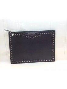 Givenchy Large Antigona Pouch In Black Studded Leather Fall 2015 8ddd348b401a4