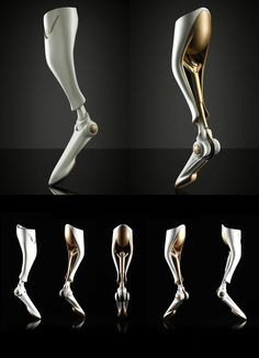 A PROSTHETIC LEG FOR BOBSLED ATHLETES | Read Full Story at Yanko Design
