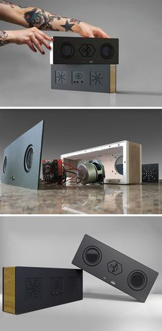 A one-of-a-kind DIY speaker that's been custom designed to suit personal preferences.