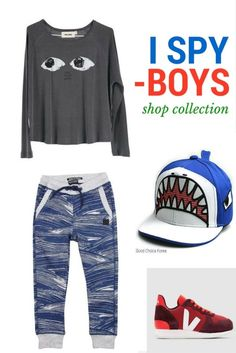Click on the photo to shop for cool, trendy and hip boy clothes.