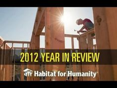 An amazing vision and an amazing organization! Thank you Habitat for Humanity International: 2012 Year in Review @NOHFH @Habitat_org