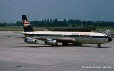 airpicfreak slide collection: British Airtours Boeing B707-436 G-APFK