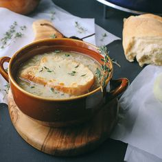 This French Onion Soup is a must-make.