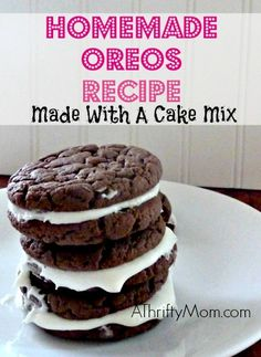 DIY Homemade Oreo Re