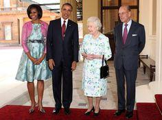 Queen Elizabeth II - US President Barack Obama Visits the UK - Day One
