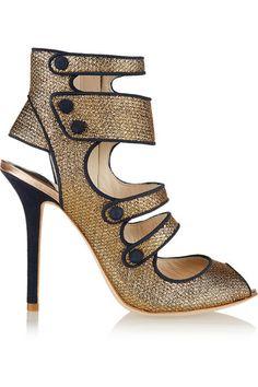 Sophia Webster x J.Crew heels.