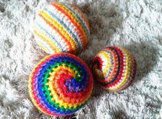 Baby Ball Crochet Baby Ball Amigurumi Baby Toy by NikitaOnLine