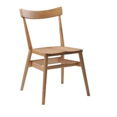 Holland Park Chair | ercol originals  --  Mmm, solid, clean-lined chair.  And it's stackable to three-high!  Rad.