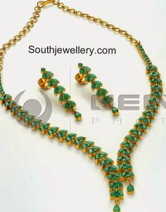 emeralds necklace sets
