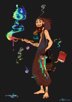 Witchsona by Fedini on DeviantArt